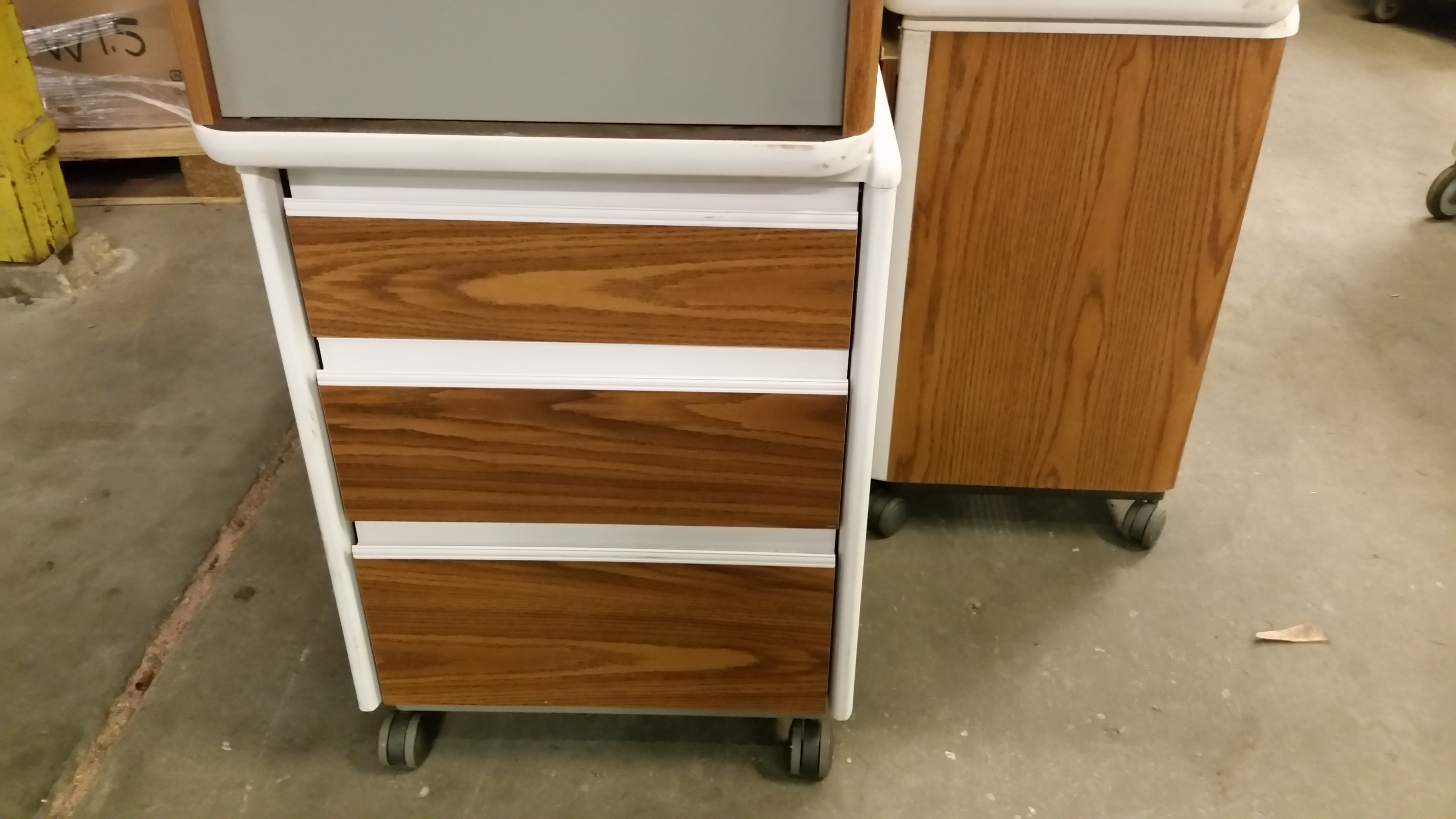 Side Bed Cabinets Hospital Direct Medical Inc