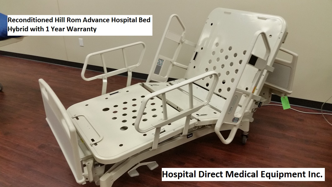 Hill Rom Advance Beds Reconditioned Hospital Direct