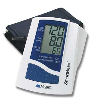 Mabis Smartread Euro Styled Digital Bp Monitor Hospital
